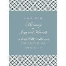 Wedding Invitation Card WIC 7902