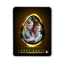 Easter Glass Frame (Big) 002