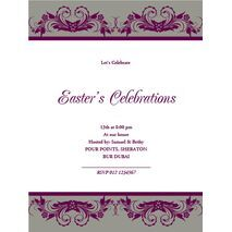 Formal Invitation Card FIC 3336