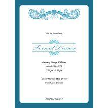 Formal Invitation Card FIC 3373