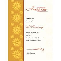 Formal Invitation Card FIC 3375