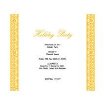Formal Invitation Card FIC 3378