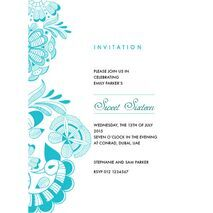 Formal Invitation Card FIC 3380