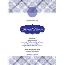 Formal Invitation Card FIC 3382