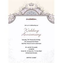 Formal Invitation Card FIC 3384