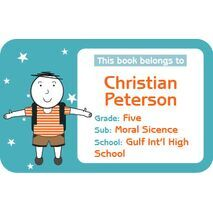 Personalised School Label 004