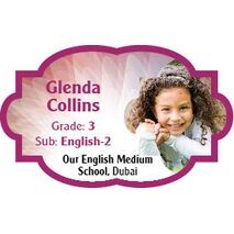 Personalised School Label 044
