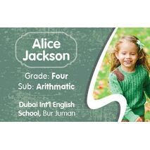 Personalised School Label 087