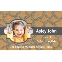 Personalised School Label 088