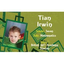 Personalised School Label 090