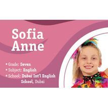 Personalised School Label 092