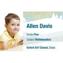Personalised School Label 093