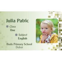 Personalised School Label 099