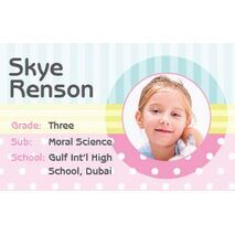 Personalised School Label 104