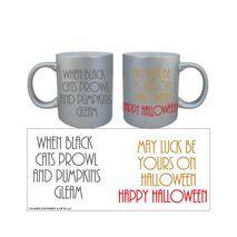 Halloween Silver Mug 001