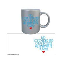 Father's Day Silver Mug 001