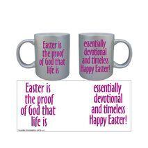 Easter Silver Mug 004