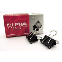 Alpha Binder Clips 15mm