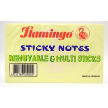 Flamingo Sticky Note 125 x 75 mm 100 sheets