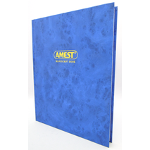 Amest Ruled Register A4 3Q