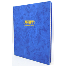 Amest Ruled Register A4 4Q