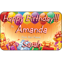 Personalised Gift Labels ST PGL 0001