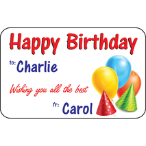 Personalised Gift Labels ST PGL 0008
