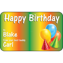 Personalised Gift Labels ST PGL 0009