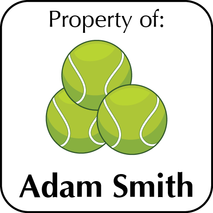 Personalised Property ID Labels ST PIDL 005