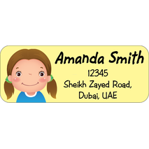 Personalised Return Address Labels ST RAL 004