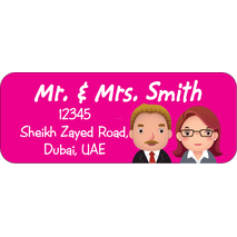 Personalised Return Address Labels ST RAL 006