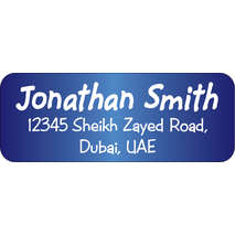 Personalised Return Address Labels ST RAL 009