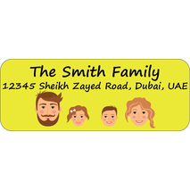 Personalised Return Address Labels ST RAL 0011