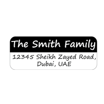 Personalised Return Address Labels ST RAL 0012