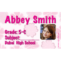 40 Personalised School Label 0232