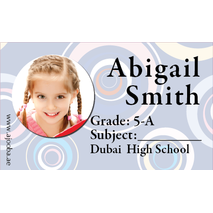 40 Personalised School Label 0233