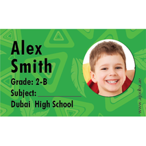 40 Personalised School Label 0236