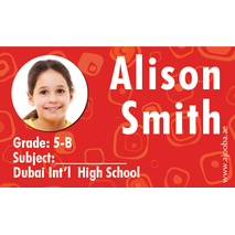 40 Personalised School Label 0238