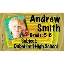 40 Personalised School Label 0242