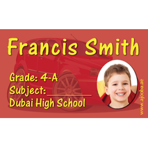 40 Personalised School Label 0250