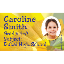 40 Personalised School Label 0251
