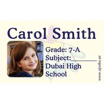 40 Personalised School Label 0262