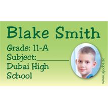 40 Personalised School Label 0264