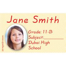 40 Personalised School Label 0265