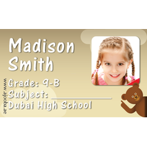 40 Personalised School Label 0270