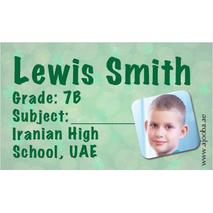 40 Personalised School Label 0271
