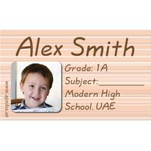 40 Personalised School Label 0274