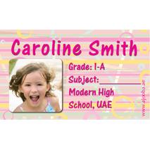 40 Personalised School Label 0275