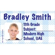 40 Personalised School Label 0277