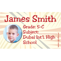 40 Personalised School Label 0284